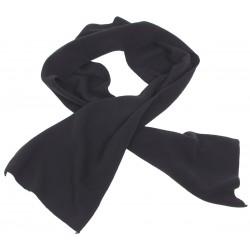 Fleece-Schal, schwarz, 160...