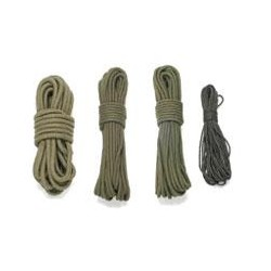 Seil, oliv, 3 mm, 15 Meter