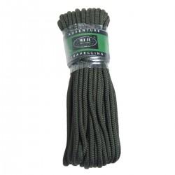 Seil, oliv, 5 mm, 15 Meter