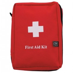 Erste-Hilfe-Set, groß, rot,
