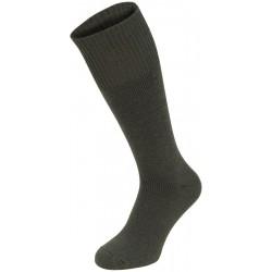 """Socken, """"Extrawarm"""", oliv"""
