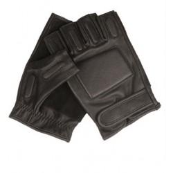 SEC Fingerlinge Leder schwarz