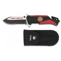 Fire Fighter Einhandmesser